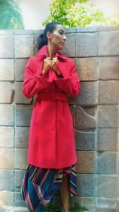 Trench donna cintura in vita collezione Kaos