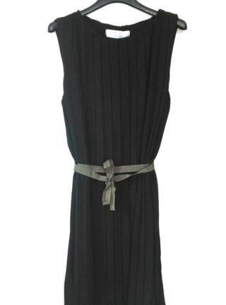 Dress collezione Kaos plissè nero