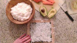 Sushi procedimento