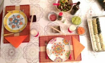 Sushi tavola