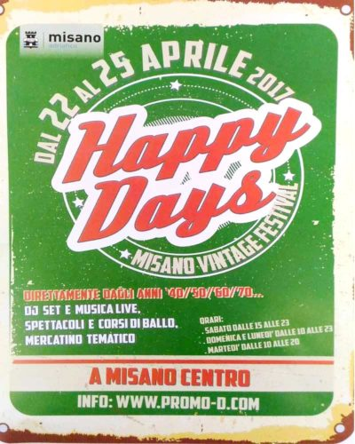 AArriva il Festival del Vintage HAPPY DAYS