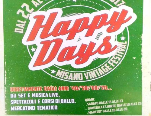Arriva il Festival del Vintage HAPPY DAYS