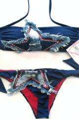 dettaglio bikini 2bekini fascia jeans