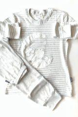 dettaglio pigiama donna luna