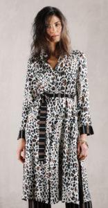 abito donna con cintura maculato collezione Superior