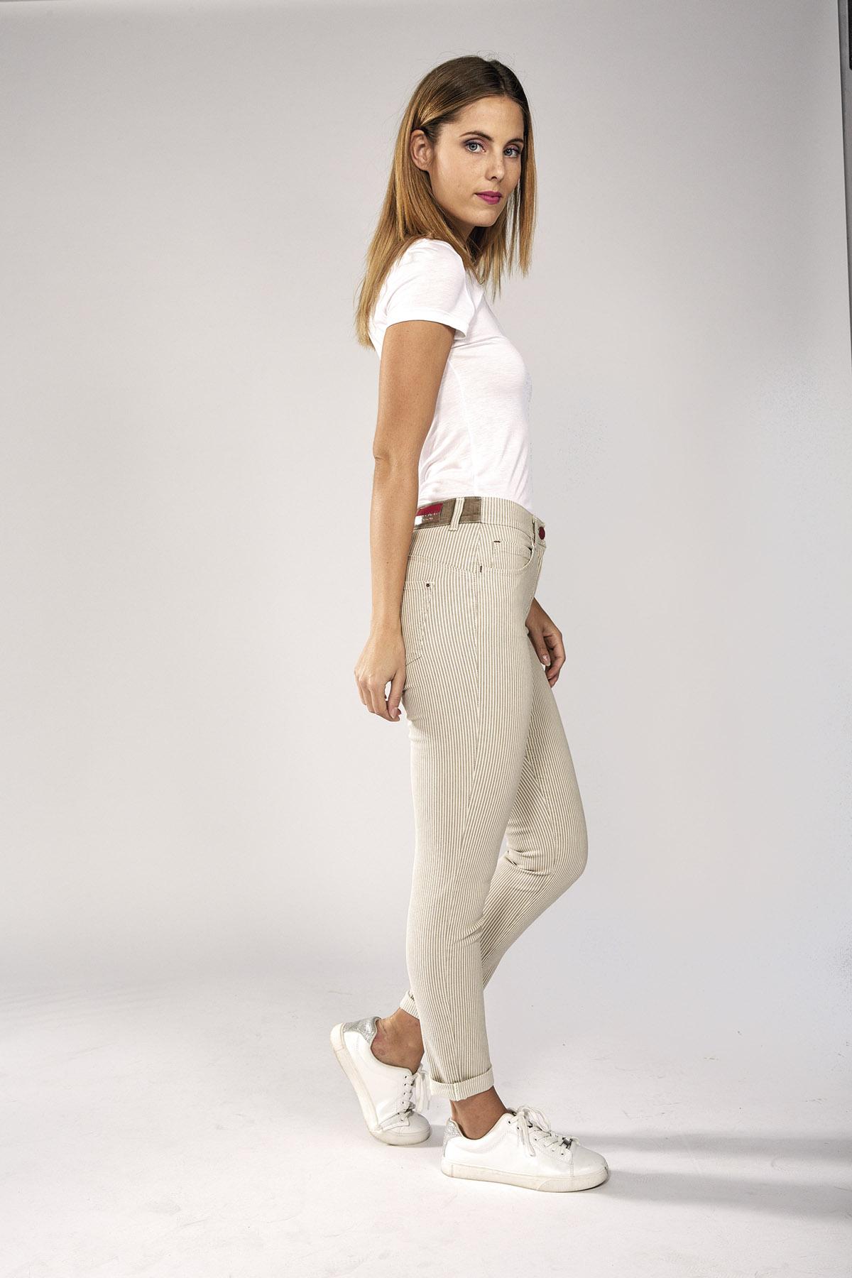 Pantalone jeans donna Iber modello Luisa