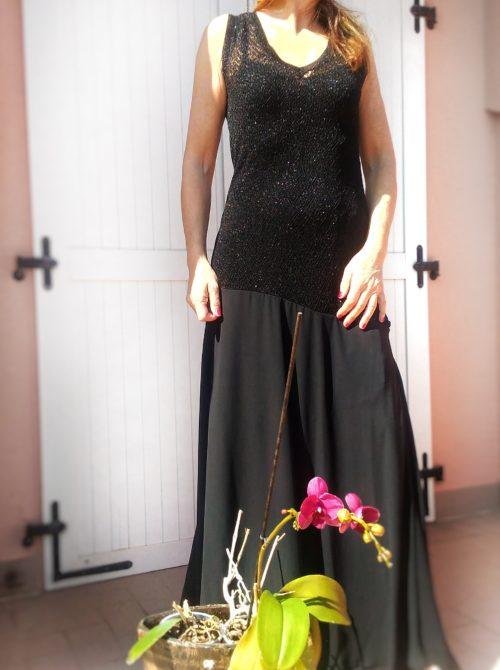 abito elegante lungo collezione kaos