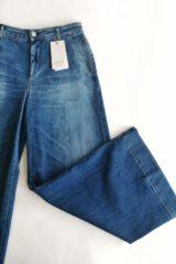 dettaglio jeans kaos largo cropped