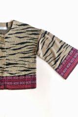 dettaglio maglia chanel zebra
