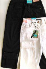 dettaglio pantalone jeans cotone modello Luxor