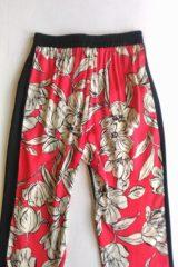 dettaglio pantalone kaos due fantasie lato b