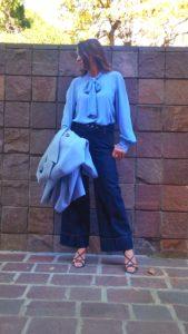 blusa donna con fiocco collezione Kaos