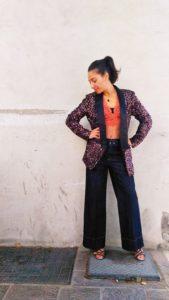 jeans donna collezione Kaos gamba larga