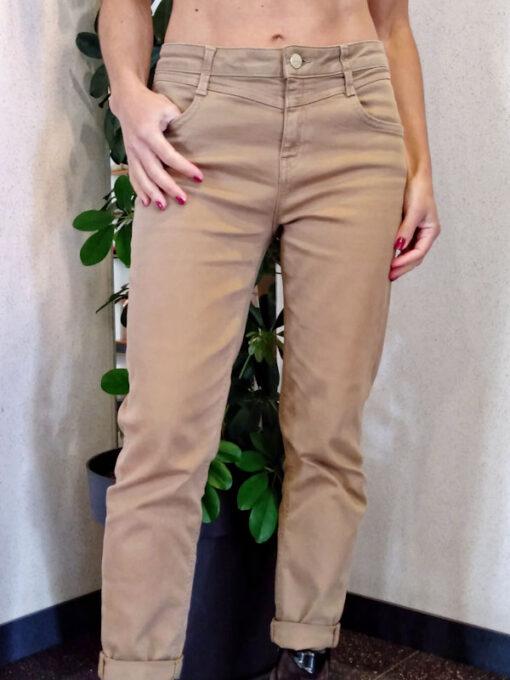 Pantalone donna Kaos cinque tasche in cotone stretch