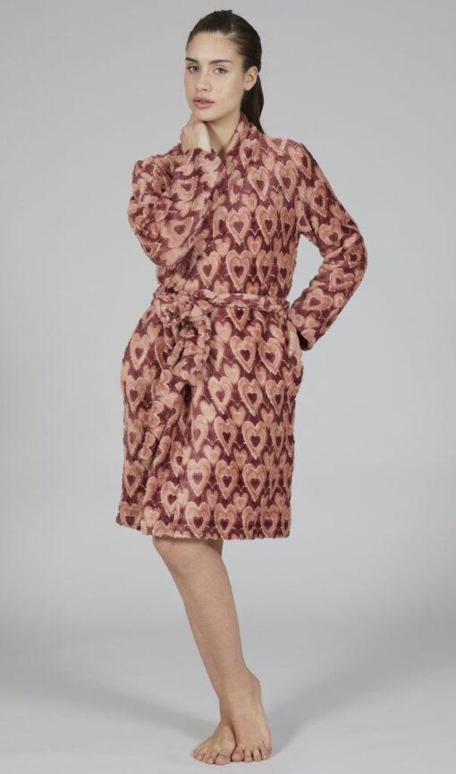 Vestaglia donna in ciniglia collezione Happy People