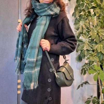 Abito donna in maglia Kaos con bottoni