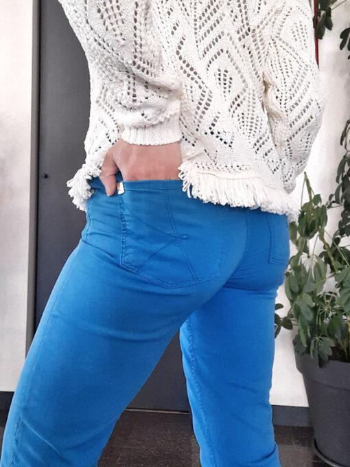 pantaloni donna Kaos modello cinque tasche in cotone stretch skinny