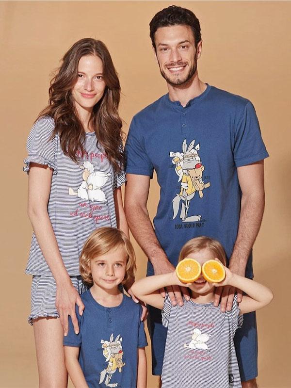 pigiami coordinati per la famiglia Happy People