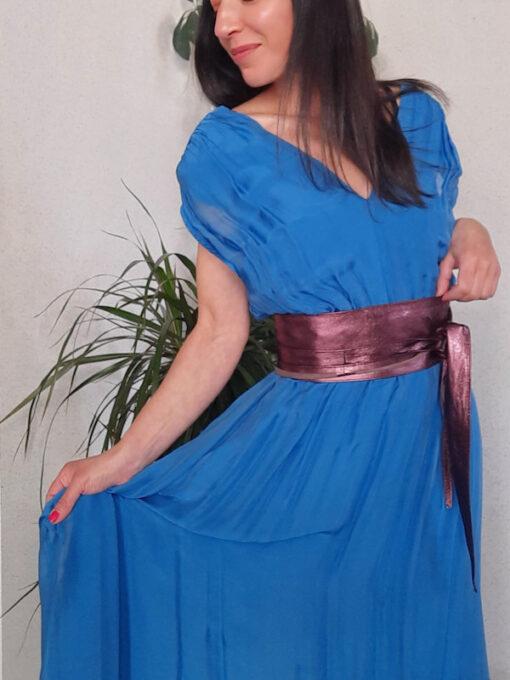 abito donna lungo collezione Kaos in seta