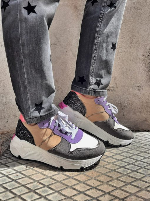 Sneakers donna basse sportive esclusiva Ovyè per Kaos