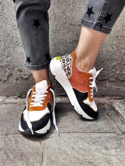 Sneakers donna sportive esclusiva Ovyè per Kaos