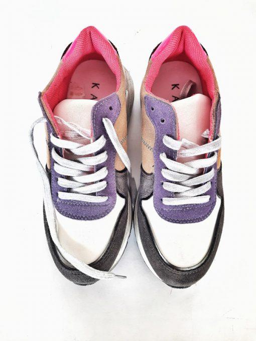 Sneakers donna sportive esclusiva Ovyè per Kaos modello stringato