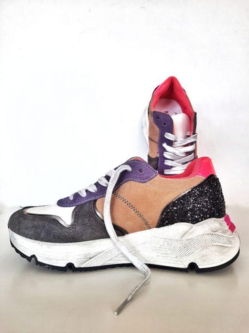 Sneakers donna sportive esclusiva Ovyè per Kaos suola in gomma